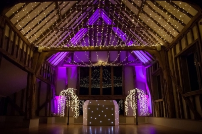 Fairy star light canopy